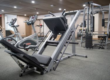 Gym ready for all types of fitness level
