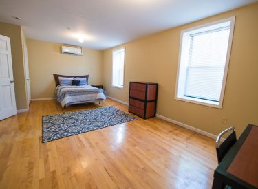 Enjoy the spacious room! All bedroom floorplans include desks, large closet